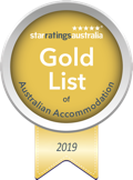 Star Ratings Australia Gold Award 2019