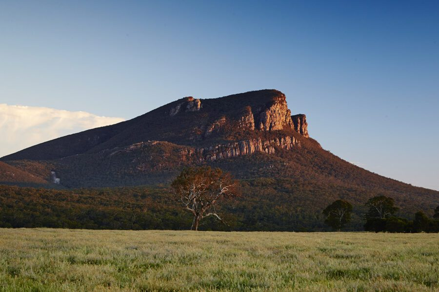 grampians accommodation in summer